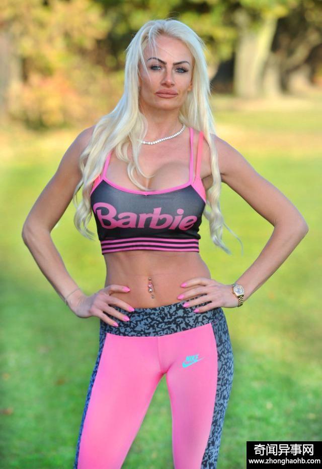 """33岁女子整容上瘾,已花费87万元,只为变身成""""芭比娃娃"""""""