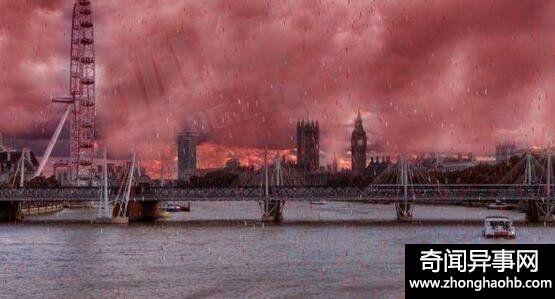 恐怖的血雨其实是一种自然现象,并非外星人所为(www.qihuanshijie.com)