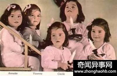 出生就备受关注的五胞胎,却被当做赚钱机器,一生成了悲剧!