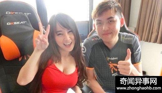 泰国最美女主播 胸器太过逼人