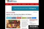 非洲女子生38娃 不绝育会有生命危险