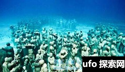 大西洋海底有神秘人类外星人和人类共用一个地