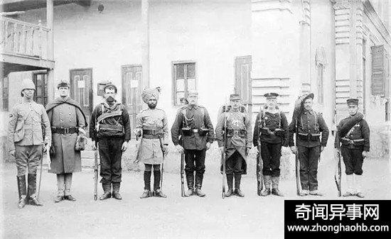 八国联军攻打北京百姓却给搬梯子 帮助洋人攻城