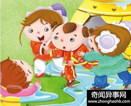 司马光砸缸的故事,中国家长睡前故事首选之一