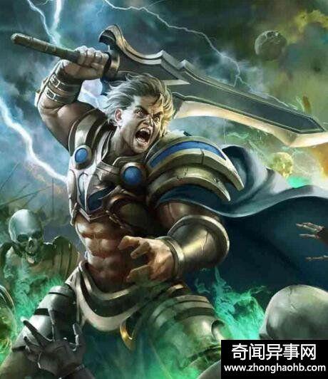 宙斯之子嗜血战神阿瑞斯,是人类祸灾的化身