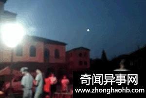 青岛天空惊现不明飞行物,疑似UFO!被不少市民亲眼看到